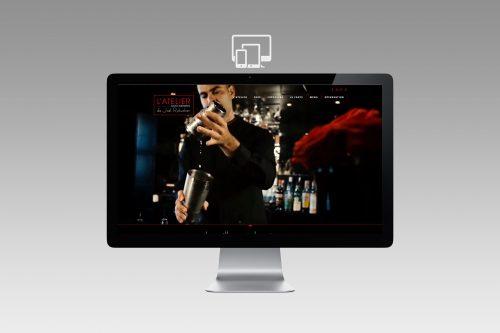Création site Internet Restaurant étoilé - Atelier Joël Robuchon