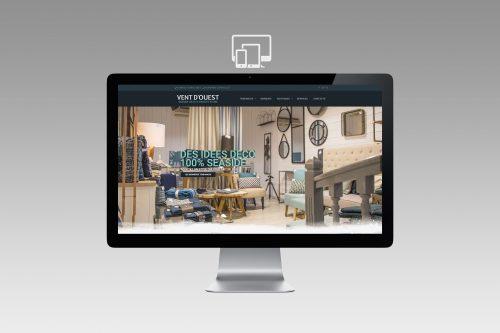Création site Internet Wordpress magasin de décoration