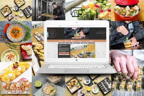 Création site Internet traiteur en ligne - Calixir Paris