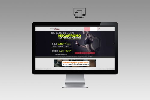 Création site Internet responsive design et ecommerce fitnessprice