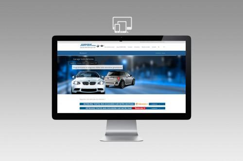 Yann Boudin - Réalisation site Wordpress responsive design