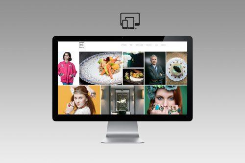 Création site Internet pour photographe - Histoires d'images