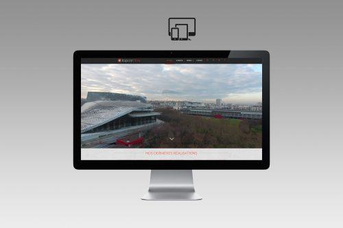 Création site internet vidéaste, production vidéo