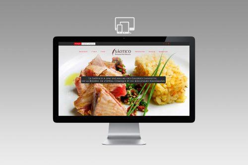 Réalisation site Internet restaurant gastronomique